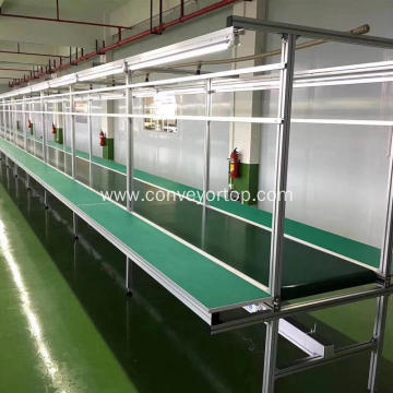 Assembly Line pvc Belt Conveyor for Workshop